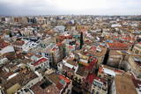 Valencia from the Metropolitan Cathedral Basilica Tower Photographic Print by David Pickford