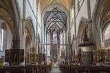 Interior of Basilica of St. Egidius Photographic Print by Ian Trower