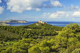 Kritinia Castle, Rhodes, Dodecanese, Aegean Sea, Greek Islands, Greece, Europe Photographic Print by Jochen Schlenker