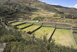 Inca Terracing, Tipon, the Sacred Valley, Peru, South America Photographic Print by Peter Groenendijk