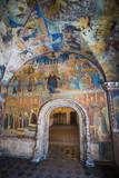 Colourful Wall Paintings in the Church of Elijah the Prophet in Yaroslavl Photographic Print by Michael Runkel