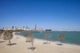 Beach Near Green Island, Kuwait City, Kuwait, Middle East Photographic Print by Jane Sweeney