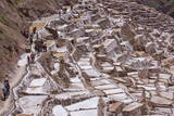 The Salt Mines of Las Salinas De Maras Fotodruck von Peter Groenendijk