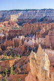 Hoodoo Rock Formations in Bryce Canyon Amphitheater Photographic Print by Michael Nolan