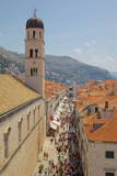 View of Stradun from Walls Photographic Print by Frank Fell