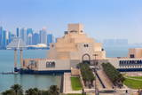 Museum of Islamic Art at Dawn, Doha, Qatar, Middle East Photographic Print by Jane Sweeney