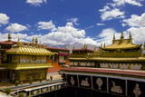 Jokhang Temple, the Most Revered Religious Structure, Lhasa, Tibet, China, Asia Photographic Print by Simon Montgomery