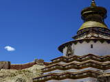 The Kumbum Chorten (Stupa) in the Palcho Monastery at Gyantse, Tibet, China, Asia Photographic Print by Simon Montgomery