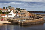 Incoming Tide at Crail Harbour, Fife, Scotland, United Kingdom, Europe Photographic Print by Mark Sunderland