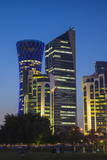 West Bay Buildings, Doha, Qatar, Middle East Photographic Print by Jane Sweeney