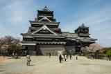 Kumamoto Japanese Castle, Kumamoto, Kyushu, Japan, Asia Photographic Print by Michael Runkel