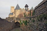 The Ancient Fortified City of Carcassone Photographic Print by David Lomax