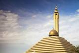 Pyramid Mosque, Salmiya, Kuwait City, Kuwait, Middle East Photographic Print by Jane Sweeney
