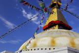 Boudha (Bodhnath) (Boudhanath) Tibetan Stupa in Kathmandu, UNESCO World Heritage Site, Nepal, Asia Photographic Print by Simon Montgomery