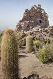 Exterior View of the Funerary Chullpas Made from Volcanic Tufa at Necropolis Photographic Print by Kim Walker
