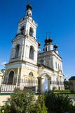 Orthodox Church in Plyos, Golden Ring, Russia, Europe Photographic Print by Michael Runkel