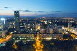 City View from Palace of Culture and Science, Warsaw, Poland, Europe Photographic Print by Christian Kober