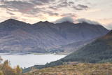 The Five Sisters of Kintail in the Scottish Highlands, Scotland, United Kingdom, Europe Photographic Print by Julian Elliott