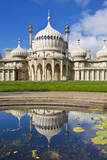 Brighton Royal Pavilion with Reflection, Brighton, East Sussex, England, United Kingdom, Europe Photographic Print by Neale Clark