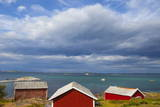 Fishing Sheds, Kjerringoy, Nordland, Norway, Scandinavia, Europe Photographic Print by Douglas Pearson