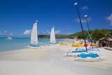 Beach, Dickenson Bay, St. Georges, Antigua, Leeward Islands Photographic Print by Frank Fell