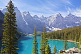 Moraine Lake in the Valley of the Ten Peaks Photographic Print by Neale Clark