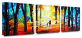 Adventure 3-Piece Canvas Set Gallery Wrapped Canvas Set by Jolina Anthony