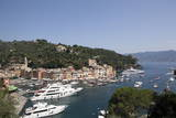 View of Portofino, Liguria, Italy, Mediterranean, Europe Photographic Print by Oliviero Olivieri