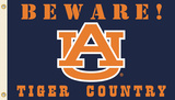 NCAA Auburn Tigers Country Flag with Grommets Flag