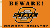 NCAA Oklahoma State Cowboys Country Flag with Grommets Flag