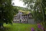 Wooden Houses, Trondheim, Norway, Arctic, Scandinavia, Europe Photographic Print by Olivier Goujon