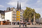 Alter Markt in the Old Part of Cologne, North Rhine-Westphalia, Germany, Europe Photographic Print by Julian Elliott