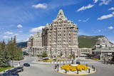 The Fairmont Banff Springs Hotel Photographic Print by Neale Clark