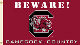 NCAA South Carolina Gamecocks Country Flag with Grommets Flag