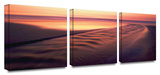Back to the Sea 3-Piece Canvas Set Prints by Dean Uhlinger