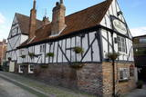 The 13th Century Half-Timbered Red Lion Public House Photographic Print by Peter Richardson