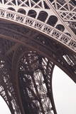 Abstract of the Eiffel Tower in Paris, France, Europe Photographic Print by Julian Elliott