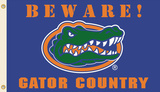 NCAA Florida Gators Country Flag with Grommets Flag