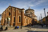 Santa Maria Delle Grazie Church, Milan, Lombardy, Italy, Europe Photographic Print by Yadid Levy