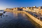 Ortigia (Ortygia) Island at Sunrise, Syracuse (Siracusa), Sicily, Italy, Mediterranean, Europe Photographic Print by Matthew Williams-Ellis