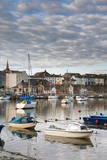 Caernarfon Harbour, Caernarfon, Gwynedd, Wales, United Kingdom, Europe Photographic Print by Alan Copson