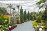 Gardens by the Bay, Flower Garden, Botanic Gardens, Singapore, Southeast Asia, Asia Photographic Print by Christian Kober