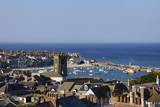 Panoramic Photo of St. Ives Church and Old Harbour Photographic Print by Peter Barritt