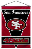 NFL San Francisco 49er's Wall Banner Wall Scroll