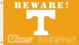 NCAA Tennessee Volunteers Country Flag with Grommets Flag