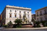 Fountain of Artemis and Banco Di Sicilia Photographic Print by Matthew Williams-Ellis
