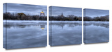 The Basilica 3-Piece Canvas Set Prints by Dan Wilson