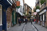 The Medieval Narrow Street of the Shambles and Little Shambles Photographic Print by Peter Richardson