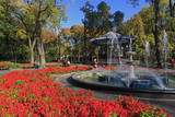 Fountain in City Garden, Odessa, Crimea, Ukraine, Europe Photographic Print by Richard Cummins