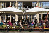 Restaurant on Deribasovskaya Street, Odessa, Crimea, Ukraine, Europe Photographic Print by Richard Cummins